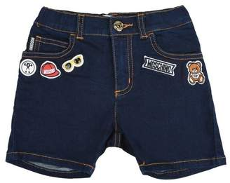 Moschino OFFICIAL STORE Denim shorts