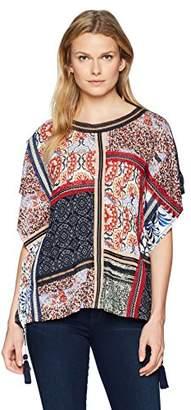Desigual Women's Bobbie Short Sleeve T-Shirt Poncho Style