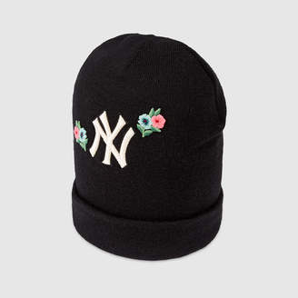 90bcaca876ed7c Gucci Wool hat with NY YankeesTM patch