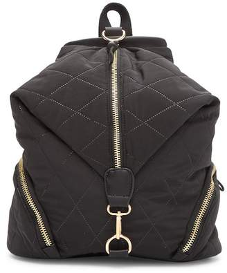 Sondra Roberts Quilted Nylon Backpack
