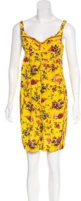 Jean Paul Gaultier Silk Bustier Dress Set