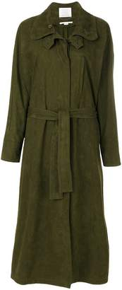 Stella McCartney oversized long belted coat