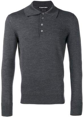 Tom Ford slim-fit polo shirt