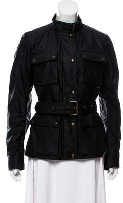 Belstaff Coated Belted Coat