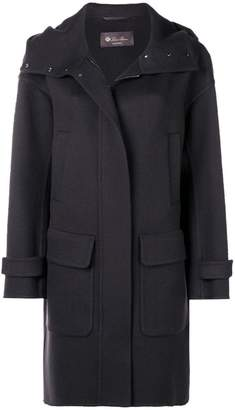 Loro Piana oversized hooded coat