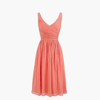 J.Crew Tall Heidi dress in silk chiffon