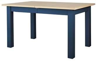 Corndell Dark Blue 'Marlow' Extending Dining Table