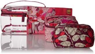 Vera Bradley Travel Cosmetic Set