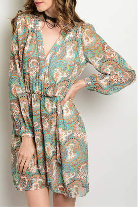 Honey Punch Esmeral Wrap Dress