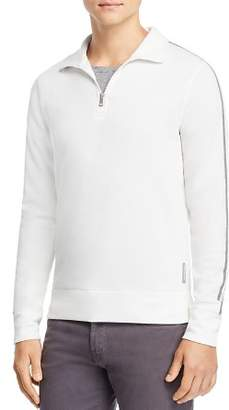 Michael Kors Double-Knit Quarter-Zip Sweater - 100% Exclusive