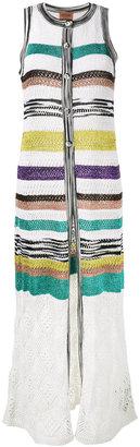 Missoni striped long waist-coat $1,320 thestylecure.com