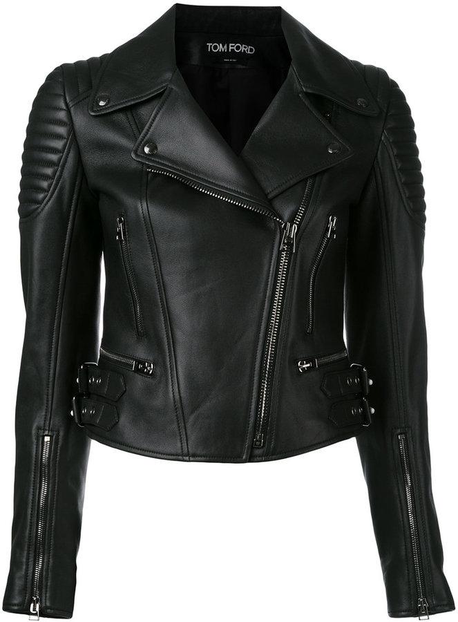 Tom Ford zipped biker jacket