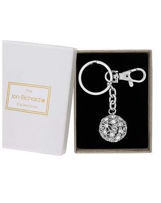 949fe45157d Jon Richard Crystal Pave Ball Keyring