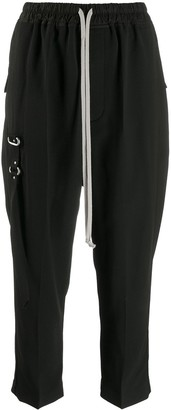 Rick Owens drawstring-waist cropped trousers