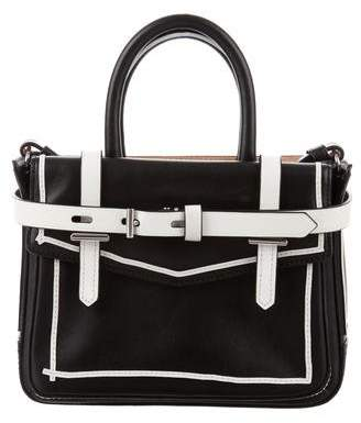 Reed Krakoff Two-Tone Leather Crossbody