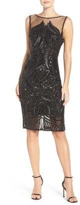 Women's Adrianna Papell Sequin Sheath Dress $179 thestylecure.com