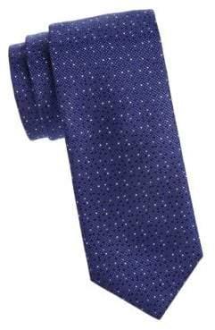 Canali Fancy Dot Silk Tie