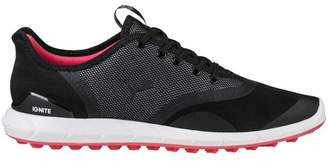 Puma Women's Spikeless Ignite Statement Low Golf Shoes Black/White
