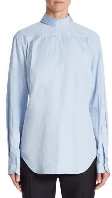 Thom Browne Revered Button Down Shirt $450 thestylecure.com