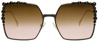 Fendi Black and Gold Can Eye FF 0259/S Sunglasses