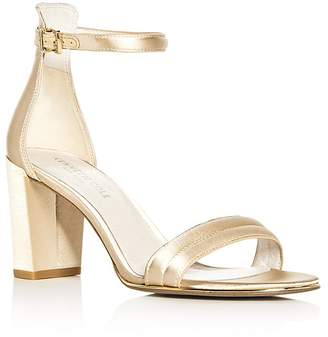 Kenneth Cole Women's Lex Satin Ankle Strap High-Heel Sandals