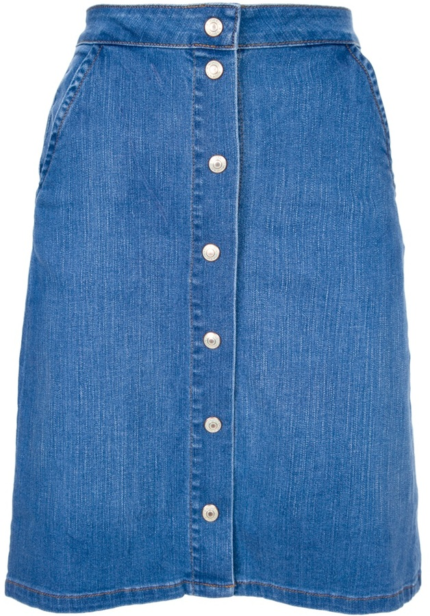 Paul & Joe 'Distille' denim skirt