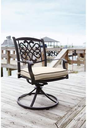 Co Darby Home Wydra Swivel Rocker Patio Dining Chair with Cushion