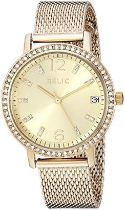 Relic Women's Laurie Stainless Steel Mesh Watch ZR34502
