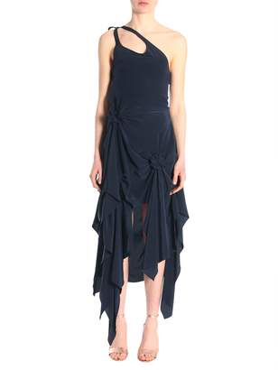 J.W.Anderson Asymmetric One Shoulder Dress