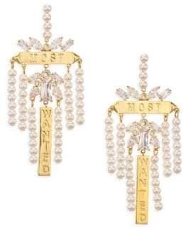 Fallon Monarch Chandelier Earrings