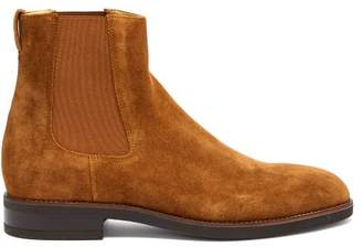 Paul Smith Canon Suede Chelsea Boots - Mens - Tan
