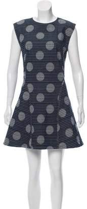 Kenzo Chambray Polka Dot Dress