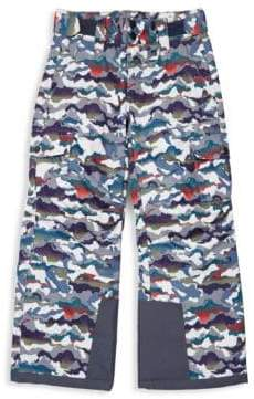 Little Boy's & Boy's Printed Ski Pants