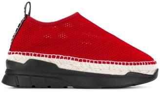 Kenzo mesh platform sneakers