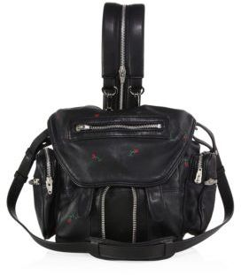 Alexander Wang Mini Marti Convertible Embroidered Leather Backpack $955 thestylecure.com