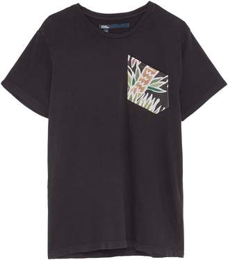 Atelier & Repairs 'Surfer' graphic print chest pocket unisex T-shirt