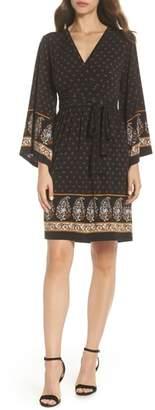 MICHAEL Michael Kors Paisley Garden V-Neck Dress