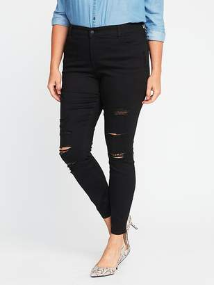 Old Navy High-Rise Secret-Slim Plus-Size Rockstar Jeans
