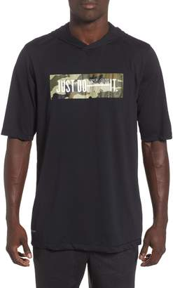 Nike Dry Hooded T-Shirt