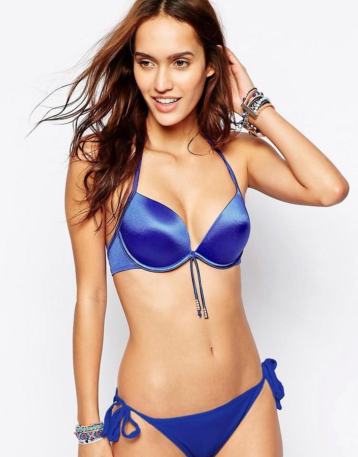 Ultimo Gel Padded Boost Halter Bikini Top