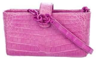 Nancy Gonzalez Crocodile Mini Crossbody Bag