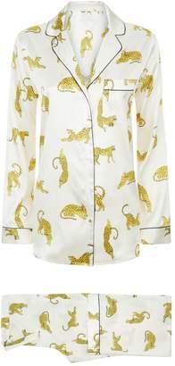 Yolke Leopard Pyjama Set
