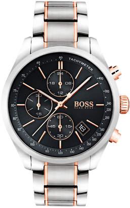 HUGO BOSS 1513473 Grand Prix Watch Silver