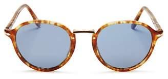 Persol Men's Polarized Low Base Phantos Sunglasses, 51mm