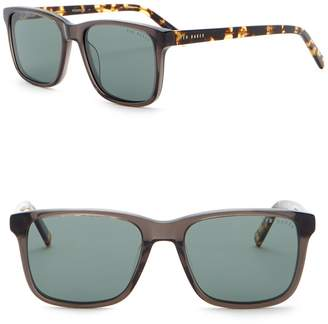 Ted Baker Polarized 54mm Square Sunglasses