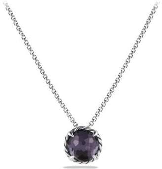 David Yurman Châtelaine® Pendant Necklace With Black Orchid