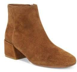 Vince Ostend Pewter Suede Booties