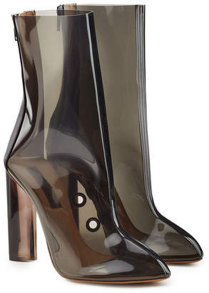 Yeezy Transparent Ankle Boots