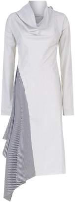 Palmer Harding Palmer/Harding Solar Cowl Neck Dress