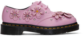 Dr. Martens Pink 1461 Flower Derbys